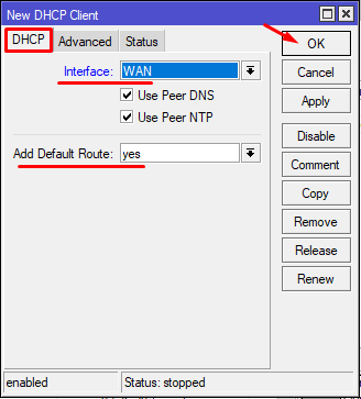 ip-dhcpclient-add